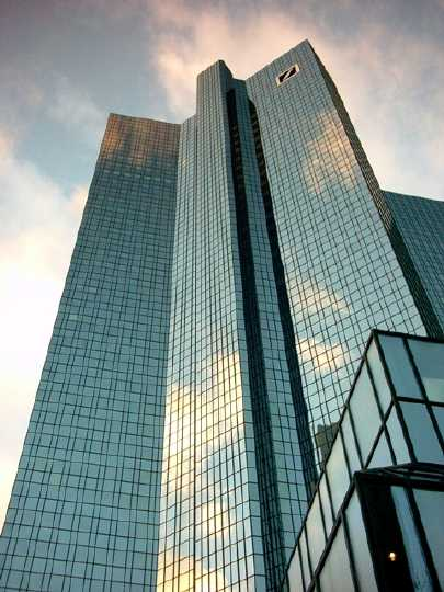 """Mainhattan"", Deutsche Bank (Foto: Jan Thomas Otte)"