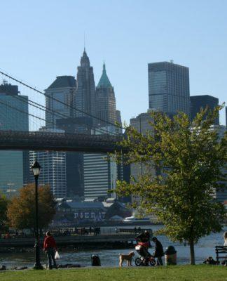 Von Brooklyn nach Manhattan, New York ist einfach grossartig... (Foto: Jan Thomas Otte)