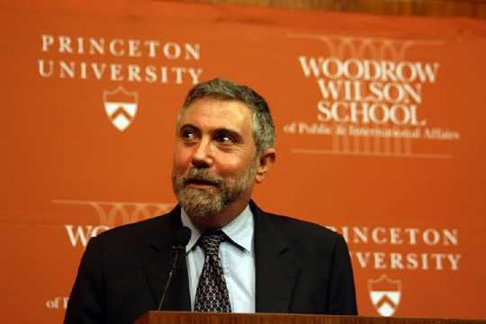 Bekam den Wirtschafts-Nobelpreis 2009, Paul Krugman (Foto: Jan Thomas Otte)