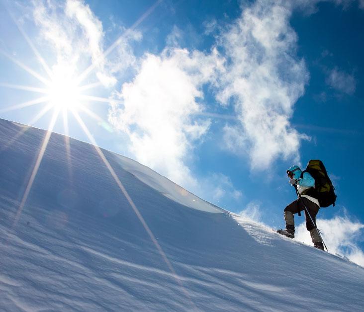 Nordwand-Prinzip? Mit der richtigen Einstellung (Foto: Maygutyak/ Fotolia.com)