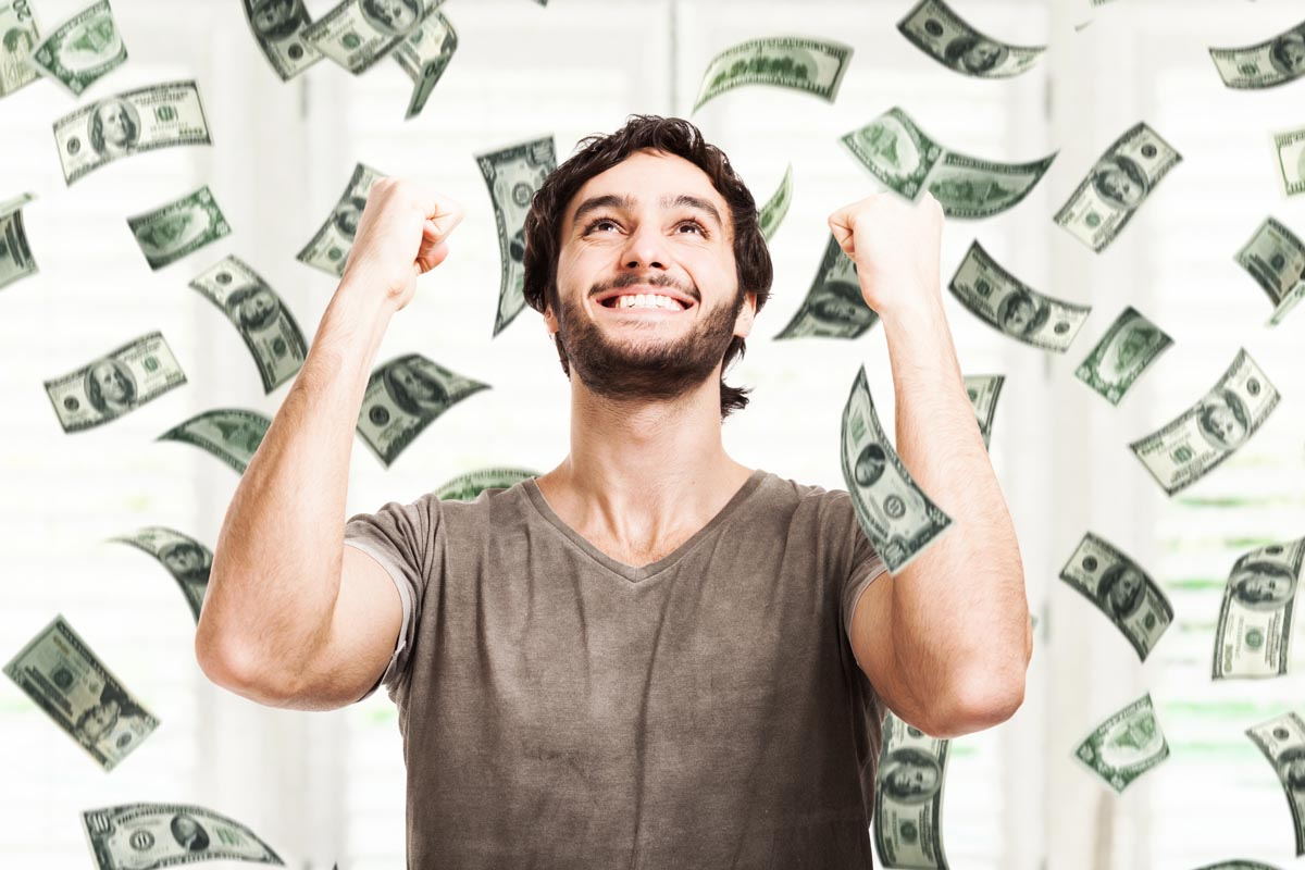 Geld regiert die Welt, das sagt man so. Aber auch unsere? (Foto: Minerva Studio/ Shutterstock)