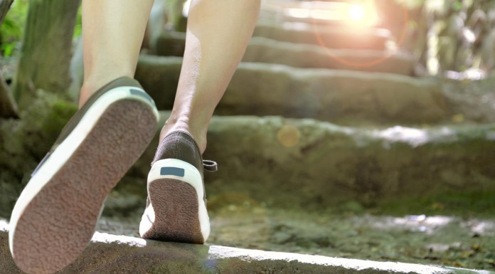 Karriere-Treppchen immer ein paar Schritte hoch - und dann? Geld ist (fast) alles, oder nichts... (Foto: serpeblu/ Shutterstock)