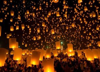 Lichterfest, eine lange Tradition in Asien. In Großstädten wie auf dem Land... (Foto: vichie81/ Shutterstock)