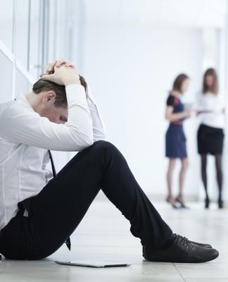 Fertig, abgehalftert? Burn-Out, eine verkappte Diagnose für depressive Verstimmungen... (Foto: YanLev/ Shutterstock)