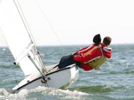 Immer schön hart am Wind - mit dem richtigen Team geht's gut... (Foto: Matt Tilghman/ Shutterstock)