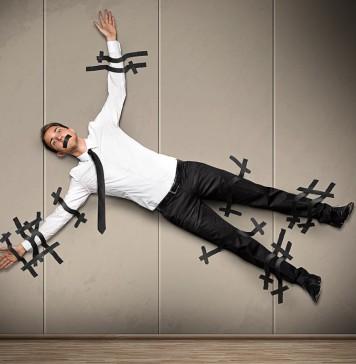 Auf der Schleimspur ausgerutscht? Brown-Noser können Kollegen ganz schön auf den Geist gehen... (Foto: lassedesignen/ Shutterstock)