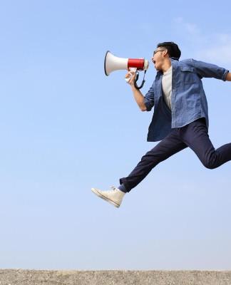 """""""Hallo, mal alle herhören was für ein toller Hecht ich bin..."""" - es geht auch etwas weniger dezent... (Foto: aslysun/ Shutterstock)"""