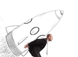 """Abheben nach dem ersten Pitch? Der nächste """"Deal"""" kommt bestimmt... (Foto: alphaspirit/ Shutterstock)"""