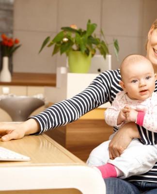 Ständiger Balanceakt, Kind und Karriere - von allem ein bisschen? (Foto: StockLite/ Shutterstock)