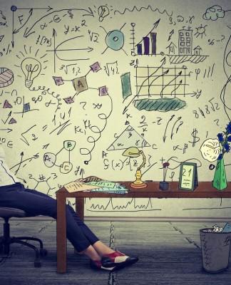 Traum und Realität - wie stellst du dir dein Traumbüro vor? (Foto: pathdoc/ Shutterstock)