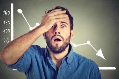 Autsch! Angst vorm Abstieg bindet Energie (Foto: pathdoc/ Shutterstock)