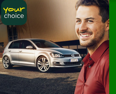 Kampagne von Europcar für verlässliche Wahl beim Mietwagen (Quelle: Europcar)