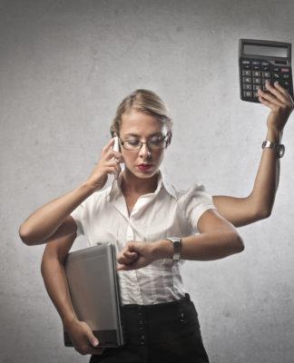 Multitasking? Geht auf die Dauer auf die Ohren... (Foto: olly/ Fotolia.com)