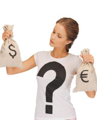 Dollar oder Euro? Geld ist ganz schön mächtig, korrumpiert unseren Charakter - kann es zumindest... (Foto: Syda Productions/ Fotolia.com)