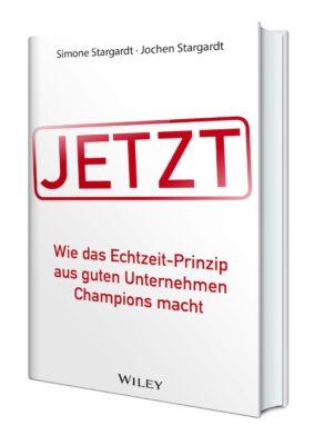 """Mit ihrem Buch befreien Simone und Jochen Stargardt Unternehmen von Warteschlangen, Stapeln und überfälligen To-dos.<a href=""""https://www.amazon.de/JETZT-Echtzeit-Prinzip-guten-Unternehmen-Champions/dp/3527508120/ref=as_sl_pc_qf_sp_asin_til?tag=karrieeinsic-21&linkCode=w00&linkId=cdaa70557d85b42b66020514f8dc8ea9&creativeASIN=3527508120""""> Buch kaufen...</a>"""